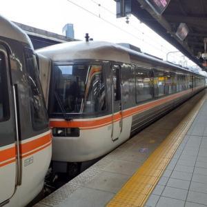 予定通り名古屋13:00発、特急「しなの」乗車。