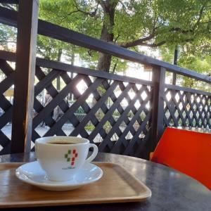 今日のソトカフェ「上六・チャオ・プレッソ」