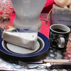 ミッドナイト・カフェ★「塩レアチーズケーキ」