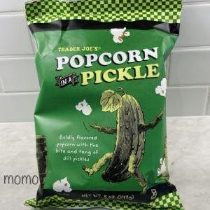 トレーダージョーズ ピクルスポップコーン Trader Joe's Popcorn in a Pickle