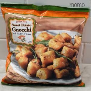トレーダジョーズ 冷凍スイートポテトニョッキ Trader Joe's Sweet Potato Gnocchi