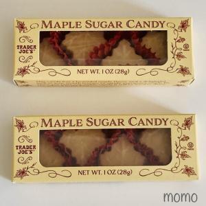 Trader Joe's Maple Sugar Candy トレーダージョーズ メープルシュガーキャンディ