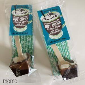 Trader Joe's Double Chocolate Hot Cocoa Stirring Spoon トレジョ スプーン付きダブルホットチョコレート