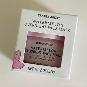 トレジョさんのウォーターメロン フェイスマスク Trader Joe's Watermelon Face Mask