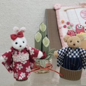 片山あゆ子のロマンチック布小物レッスン受講生作品展