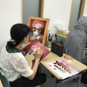 油絵によるペイント講座 黒田あつ子のオイルペインティング のご紹介です