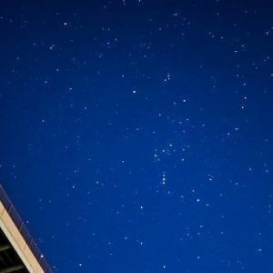 13/Oct 台風一過の星空と富士山