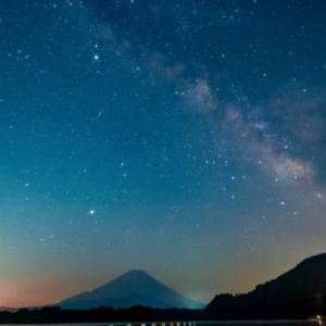 10/Jun 富士山と天の川、奥庭自然公園の野鳥たち