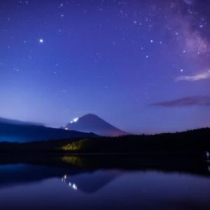 01/Aug 天の川と富士山