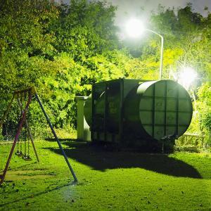 夜の公園♪