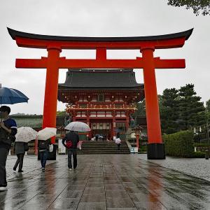 雨の日の京都で♪