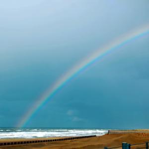 ある日見た虹♪