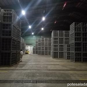 【2019年10月今金町紀行・その④】JA今金馬鈴薯センターの巨大な倉庫に貯蔵された今金男しゃくは壮観の一言!