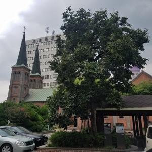 【2019年9月の大邱⑥】大邱出身の天才画家、李仁星が描いた柿の木を見に桂山聖堂へ