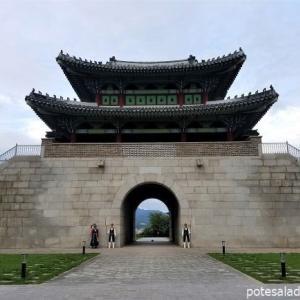 【2019年9月の大邱⑱】寿城区最後の観光はかつて大邱邑城の南門だった嶺南第一関へ