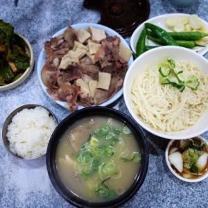 【2020年1月の大邱⑯】慶尚監営公園脇の美味しいソルロンタン屋で朝食を
