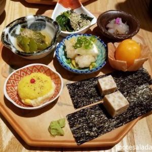 恵比寿「酒 秀治郎」の未来のポテトサラダ on みらいピューレ