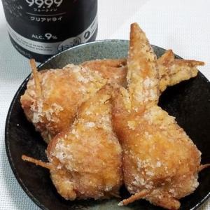 【自宅ポテサラ】明太ポテサラで久しぶりに「ポ手羽唐揚げ」を作りました