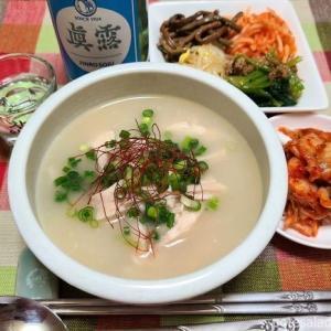 韓国の「土用の丑の日」にお手軽参鶏湯を