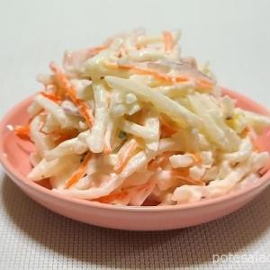 【季節限定】シャキシャキした食感がいい!サラダカフェ「シャキシャキ食感の千切りポテトサラダ」