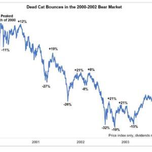 ITバブル崩壊時の株価チャートを振り返り資金投下方法を考えてみた