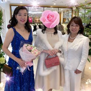 ★【華やか!】K姫さま♪音楽家の山形由美さんと千恵先生と♪