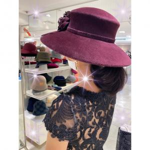 ★【M姫さま♡】エレガントなお帽子をオーダー♪