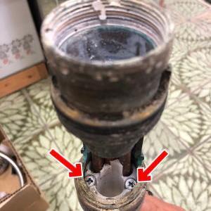 INAX(LIXIL)製のキッチンの水栓(ワンホール上面施工タイプ)が取り外せない時に取り外す方法