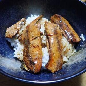 サンマのかば焼き丼