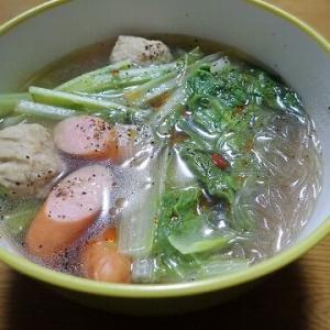 中華スープで温まろう!