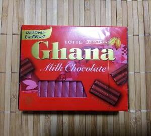 ガーナ ミルクチョコレート エクセレント