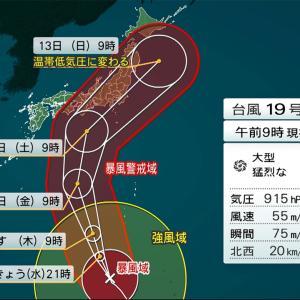 台風に備えるフィリピーナ(笑)