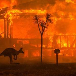 山火事が心配なフィリピーナ