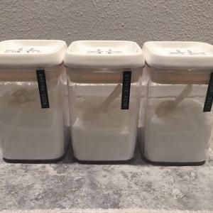 ニトリ&無印で入浴剤収納を改善☆見た目スッキリ、使いやすさ抜群に