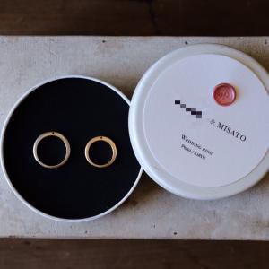 結婚指輪をどこのブランドでオーダーしましたか?