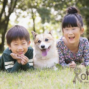 《香川県高松市》家族4人+1匹で撮影する家族写真のかたち