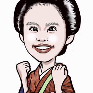『おちょやん』杉崎花さんを描く