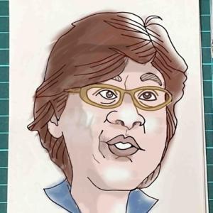 1分の早描きは似顔絵の原点