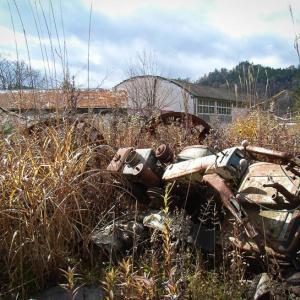 「アートに支配された学校」ごっそり残された、廃墟小学校.4
