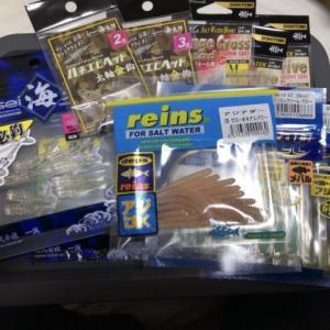 アジ・メバル用品をポチポチして釣りの準備【散財】