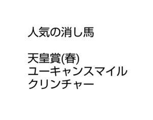 天皇賞(春)に全力投球!