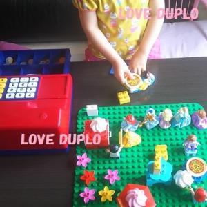 娘が遊んでいるデュプロリスト その3(2歳~)