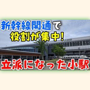 【JR境界駅・新幹線~特急乗継駅】小さな駅が進化して上越の魅力を詰められた上越妙高駅