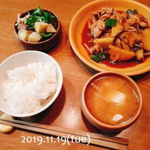 鶏肉とさつま芋の甘酢炒め