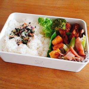 12月4日のお弁当 冷凍食品ビフカツ