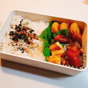 12月6日のお弁当 冷凍食品チキンナゲット
