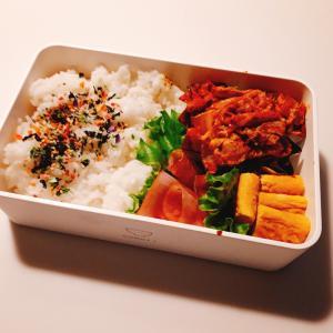 12月7日のお弁当 豚キムチ