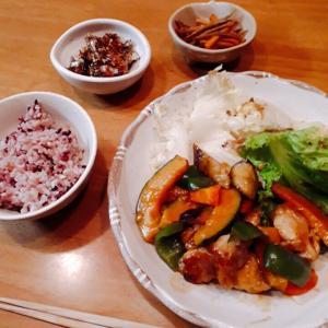 鶏肉と野菜の甘酢あんかけと、佃煮手作りキット