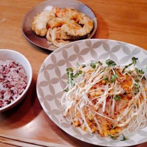 ほぼ火を使わない料理 素麺をサラダ麺風にアレンジ