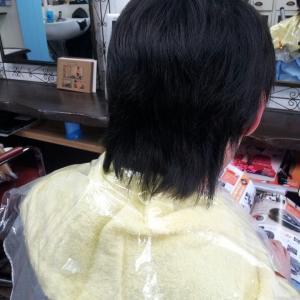 メンズ縮毛矯正☆久留米美容室